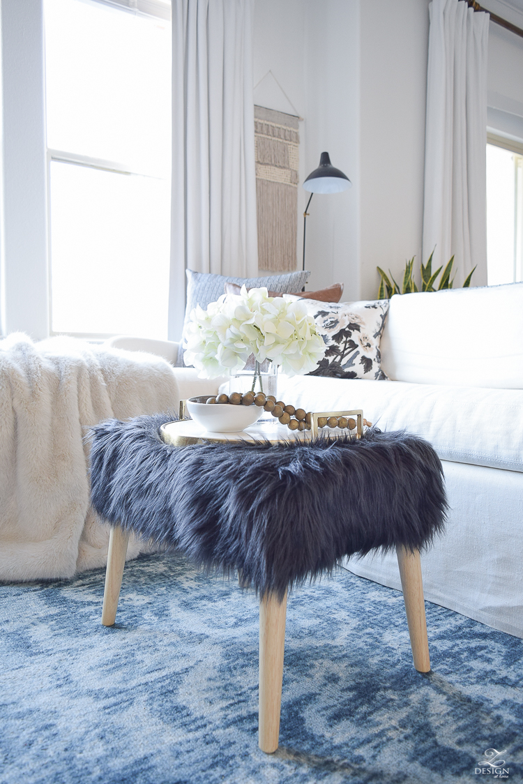 how to avoid those winter decor blues + a winter room tour