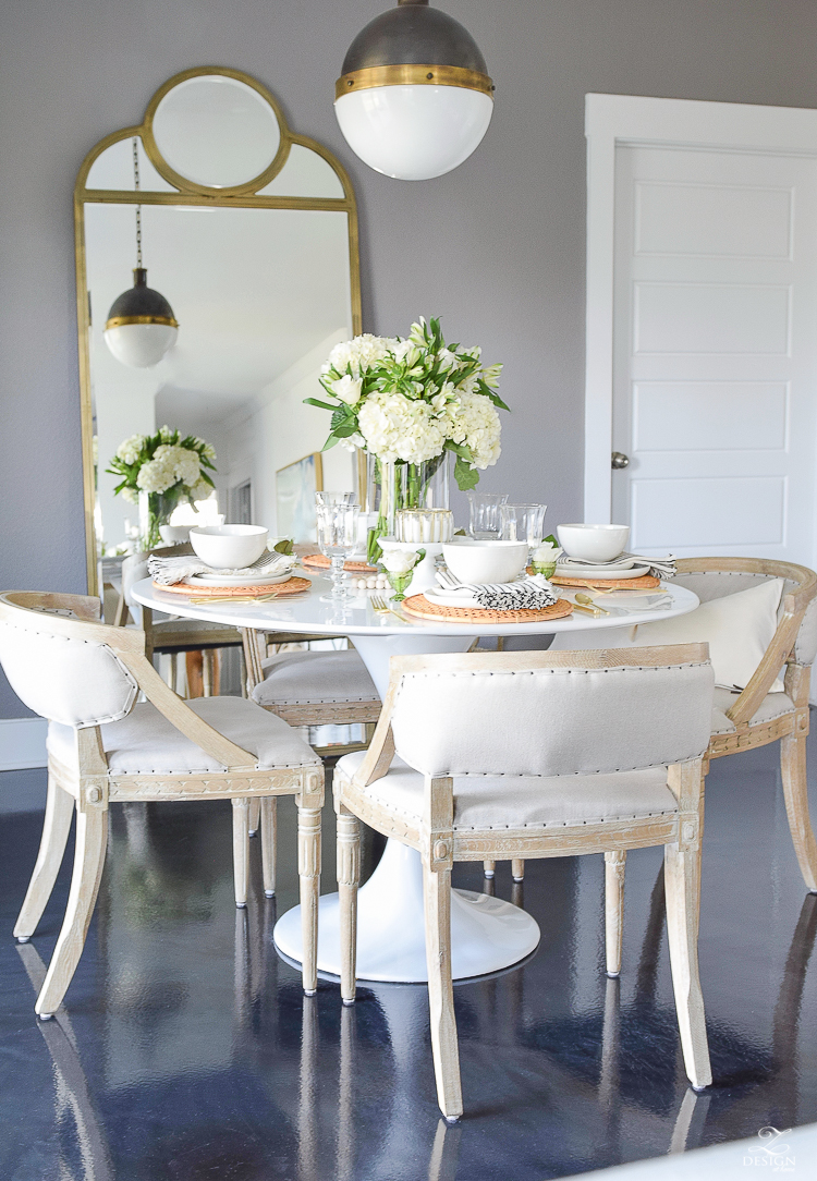 Simple Modern Easter Entertaining Ideas