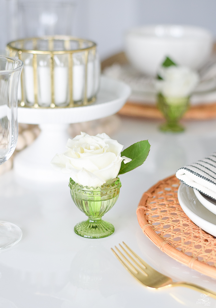 Simple Easter Entertaining Ideas & Table scape