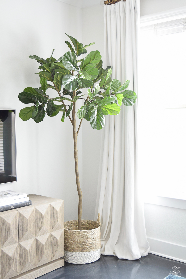The Best Faux Fig Tree You Can Buy plus an honest review!