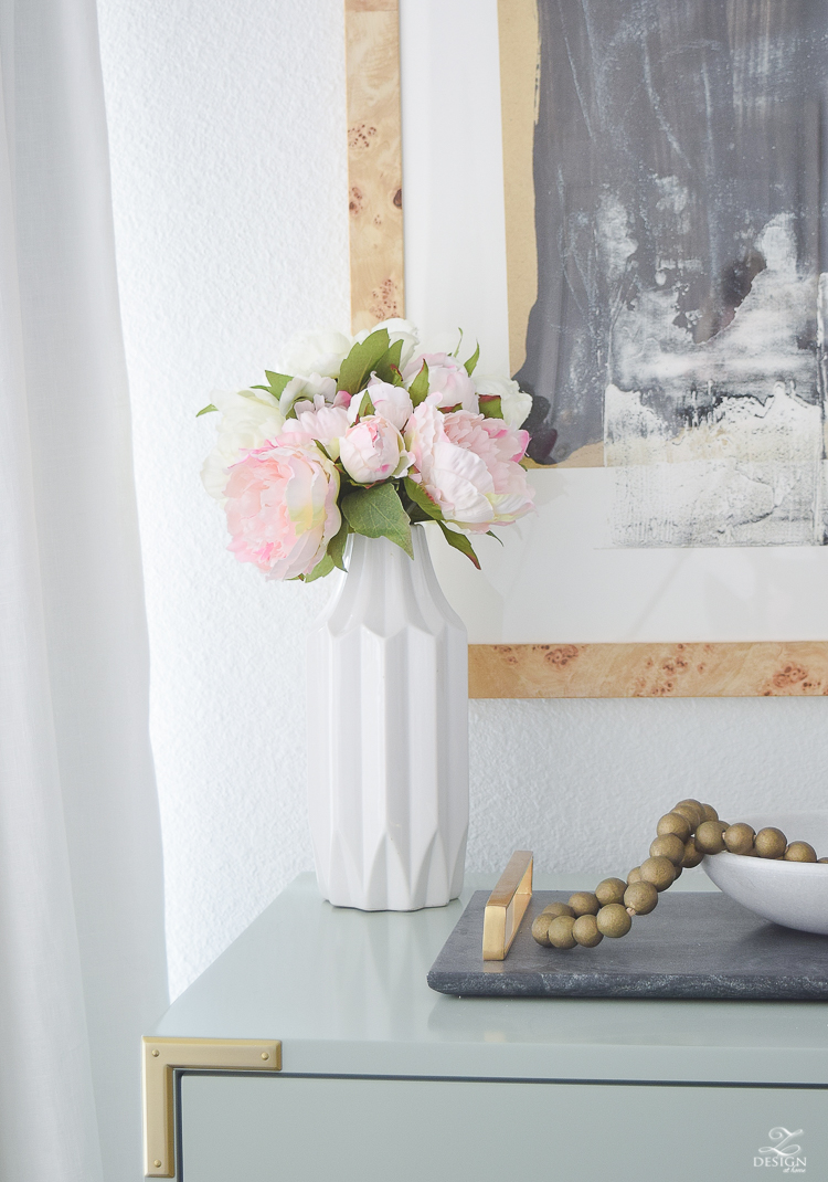 The Best Faux Flowers, How to Style them & Where to buy them