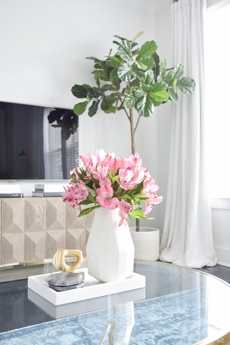 The best faux flowers - how to style them & where to buy them