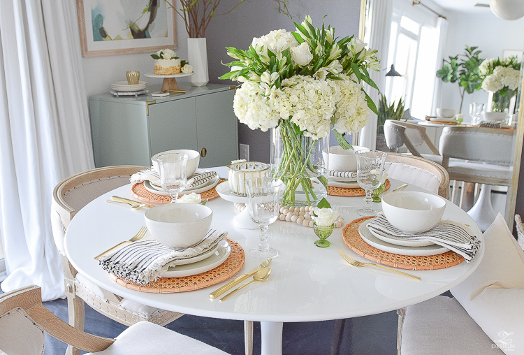Simple Modern Easter Entertaining Ideas - ZDesign At Home