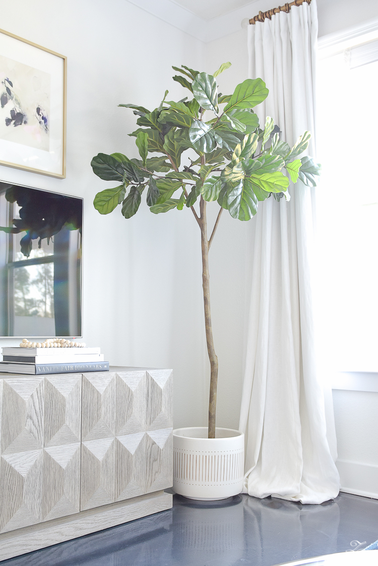 Best fiddle leaf fig mid modern planter alstromeria faceted white best fiddle leaf fig mid modern planter alstromeria faceted white vase how to style coffee table accessories black marble hex coasters 1 reviewsmspy