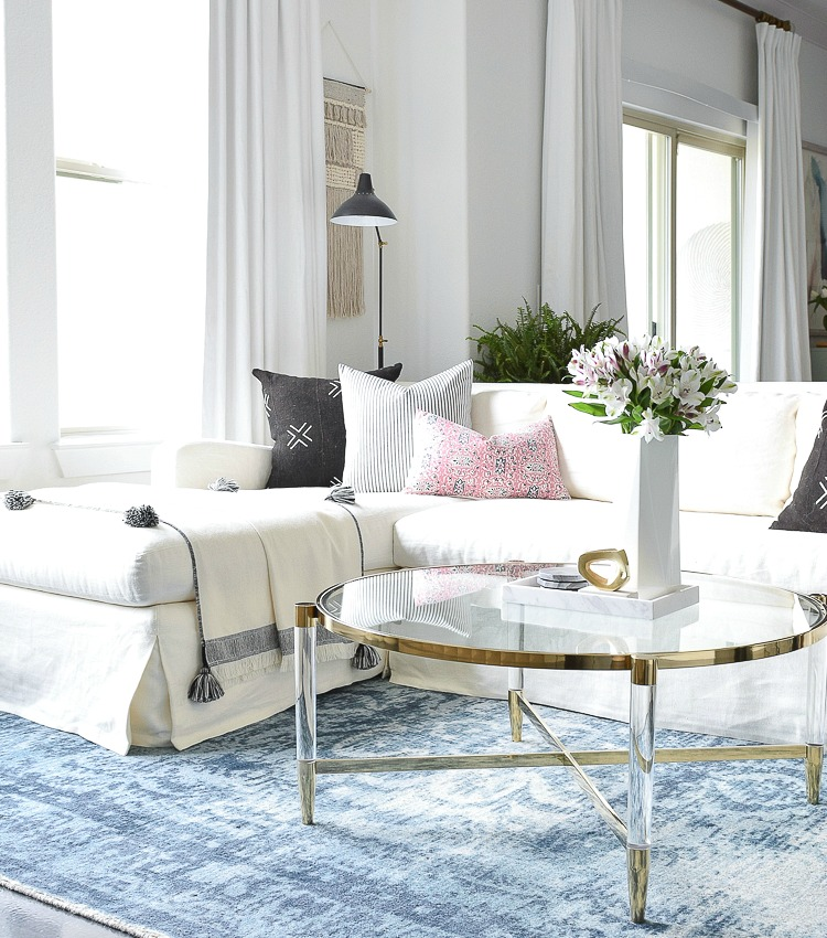 How To Choose The Right Coffee Table For Your Space A Brass Lucite Round Up Zdesign At Home