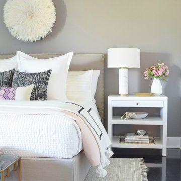 Shades Of Pink Spring Bedroom Home Tour