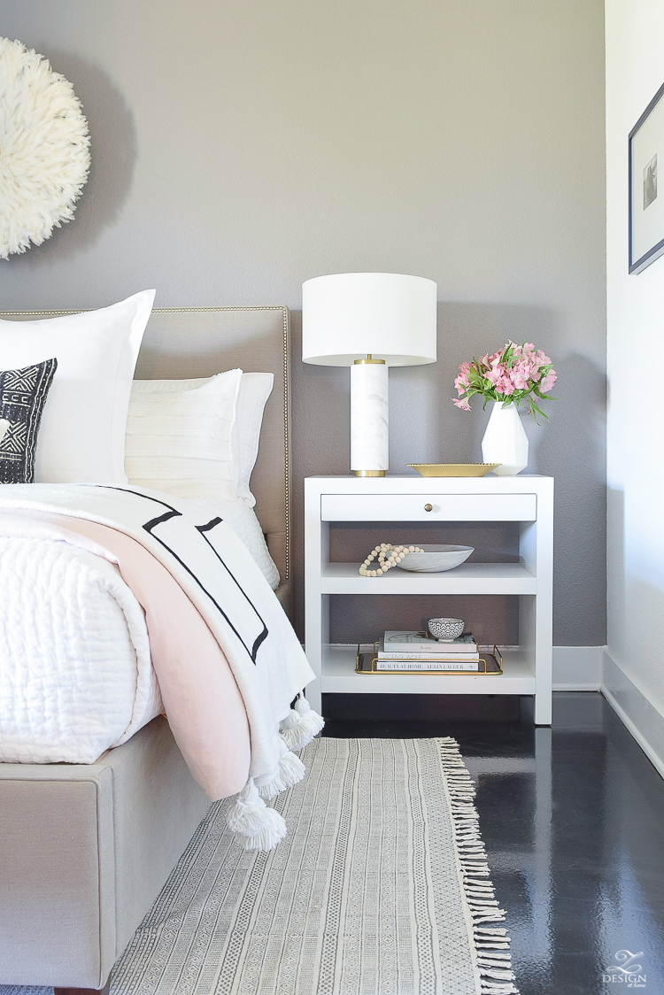 Shades of Pink Spring Home Tour - ZDesign At Home
