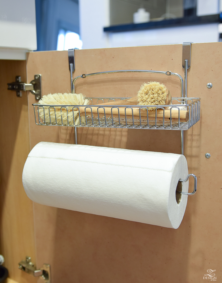 Best organizational solution for paper towel storage