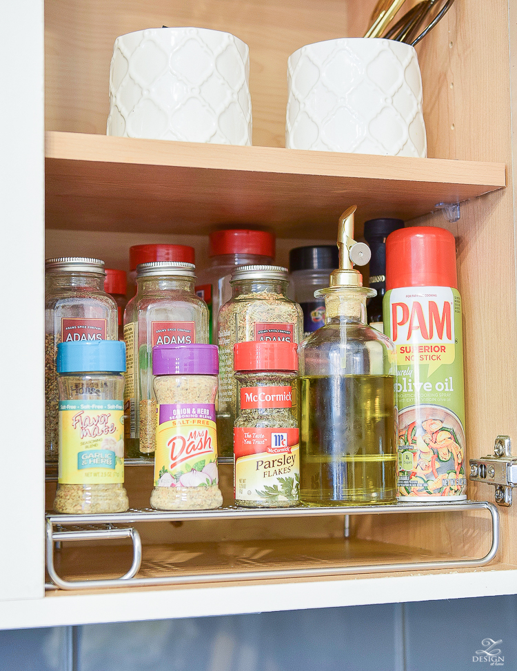 The best spice rack organization