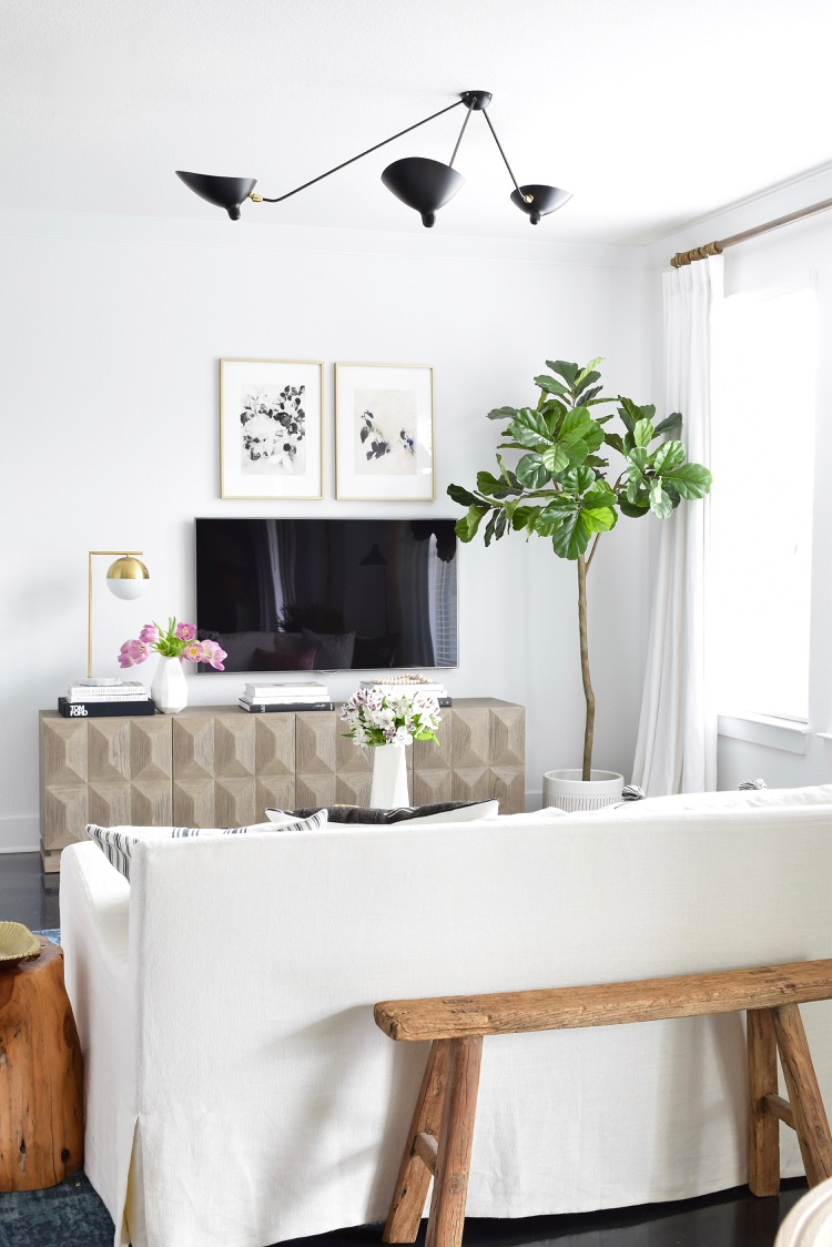 Decked & Styled Spring Home Tour - Modern Light updates