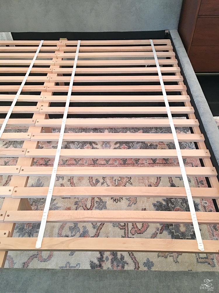 slats on andes west elm bed