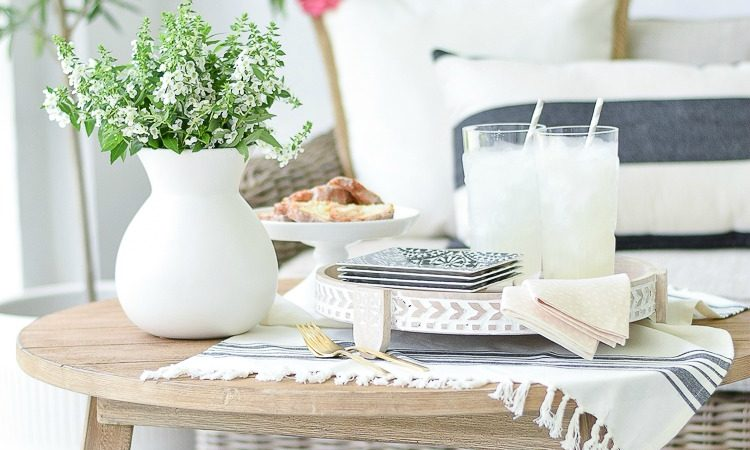The Styled + Set Summer Entertaining Tour + Tips for patio entertaining
