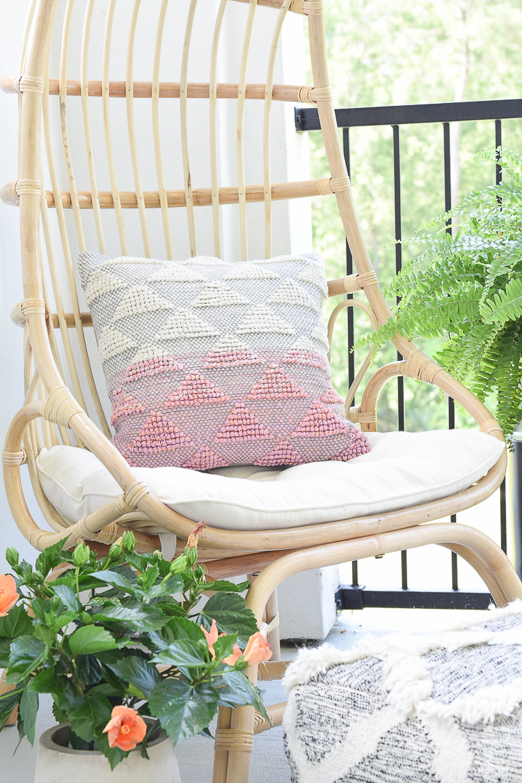 Boho Chic Summer Patio Tour