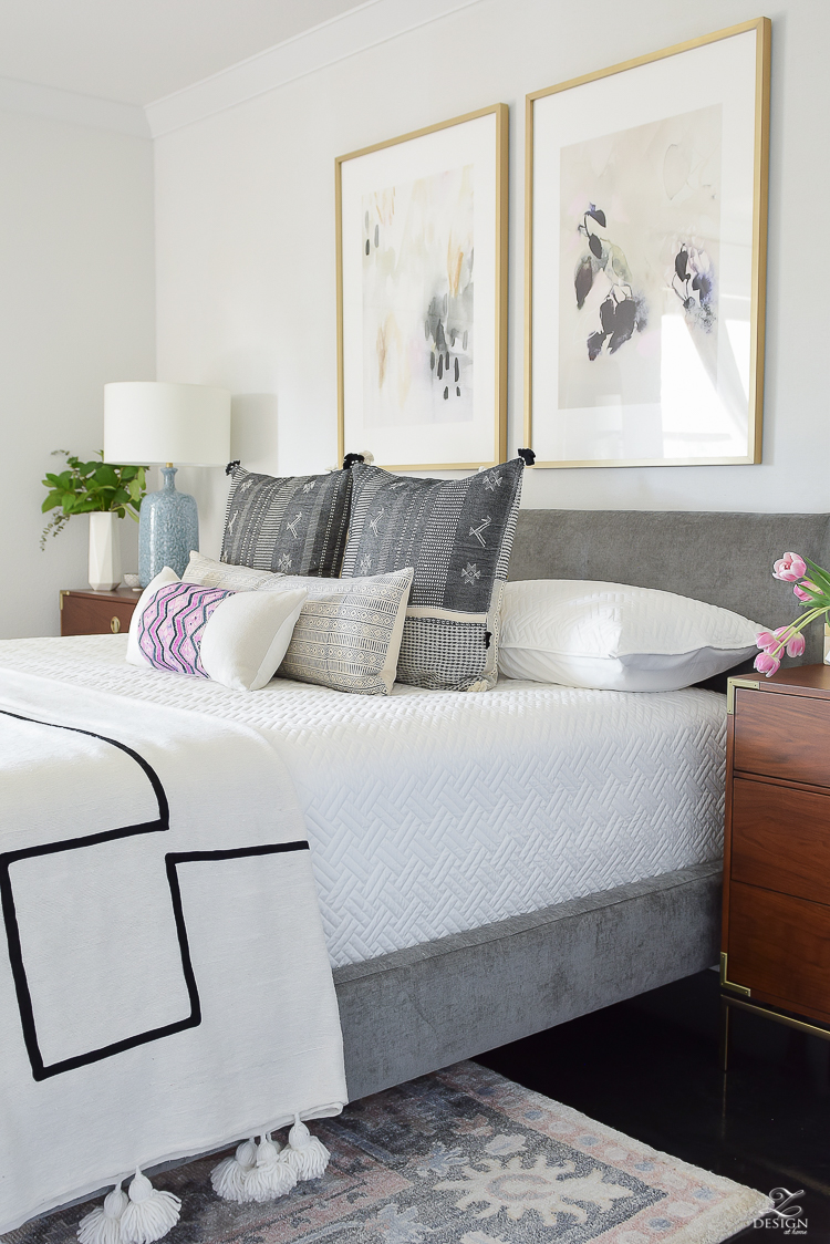 One Room Challenge - Master Bedroom Reveal - ZDesign At Home