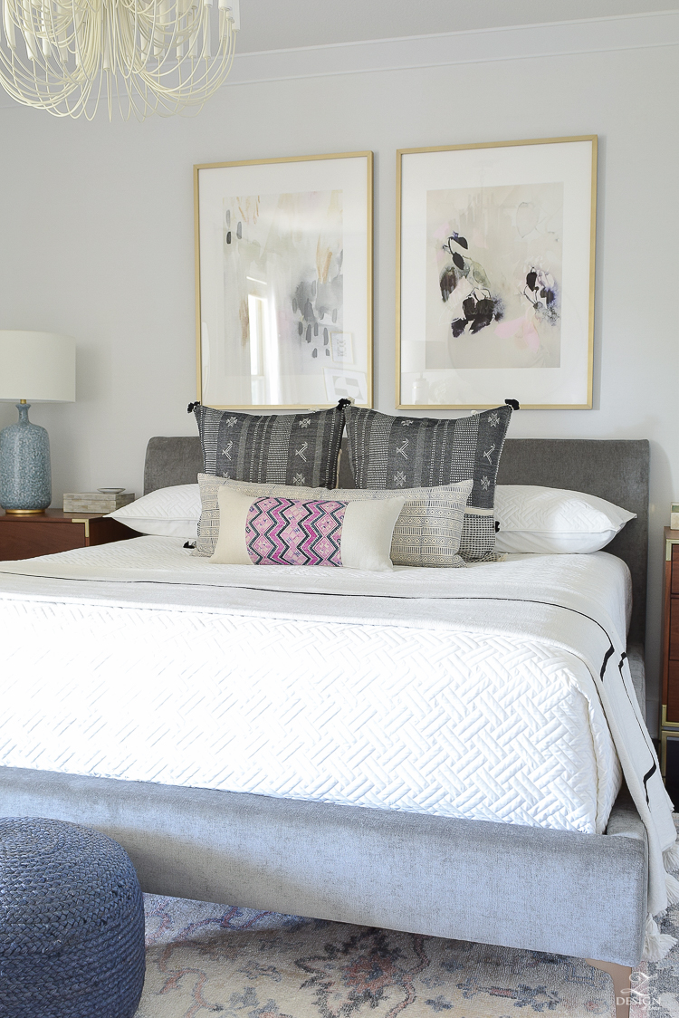 One Room challenge Transitional Modern Master Bedroom Reveal