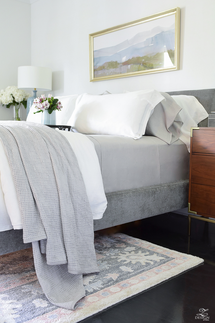 The best organic linen bedding perfect for summer