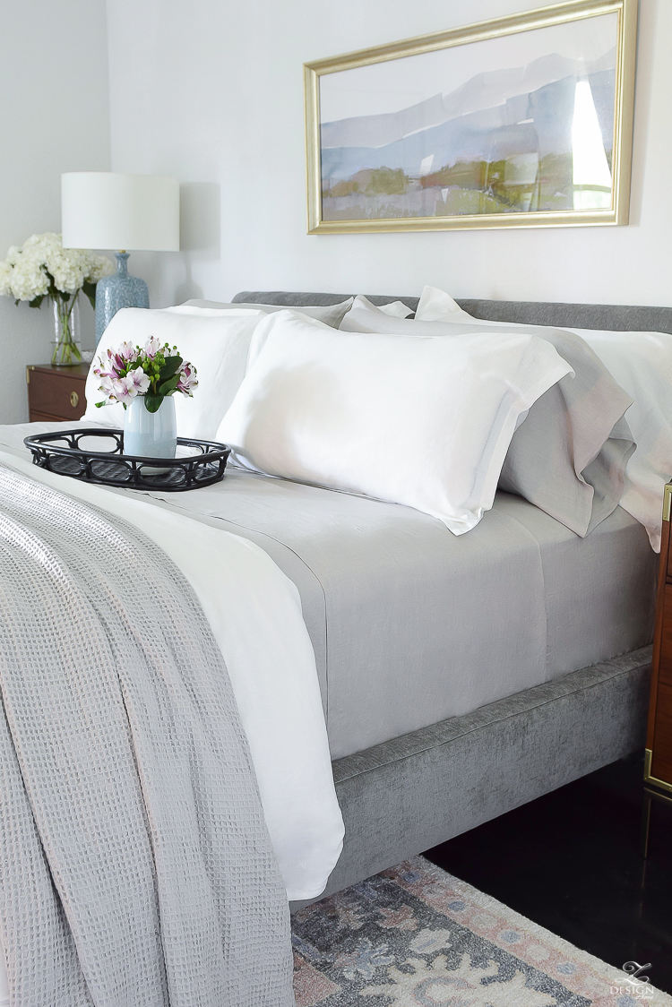 The best organic linen bedding perfect for summer that you can't live without