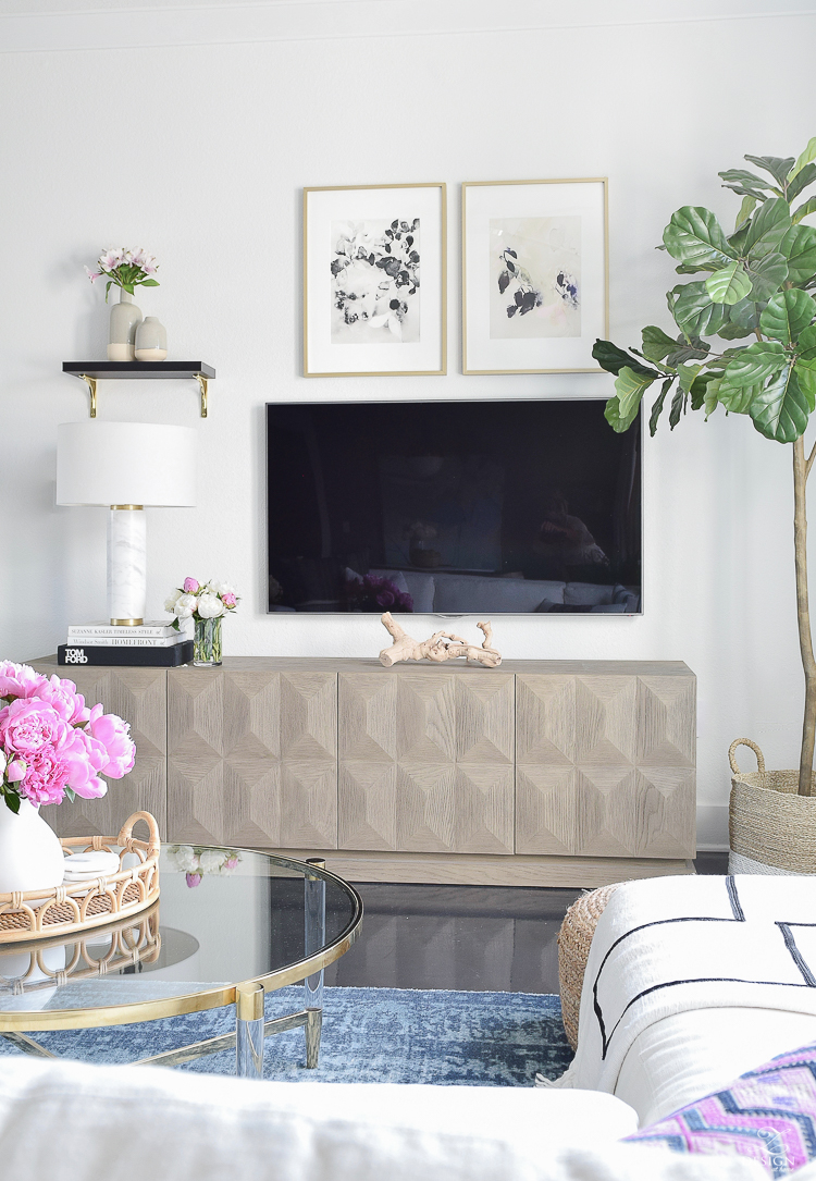 ZDesign At Home - Ideas for summer decorating home tour