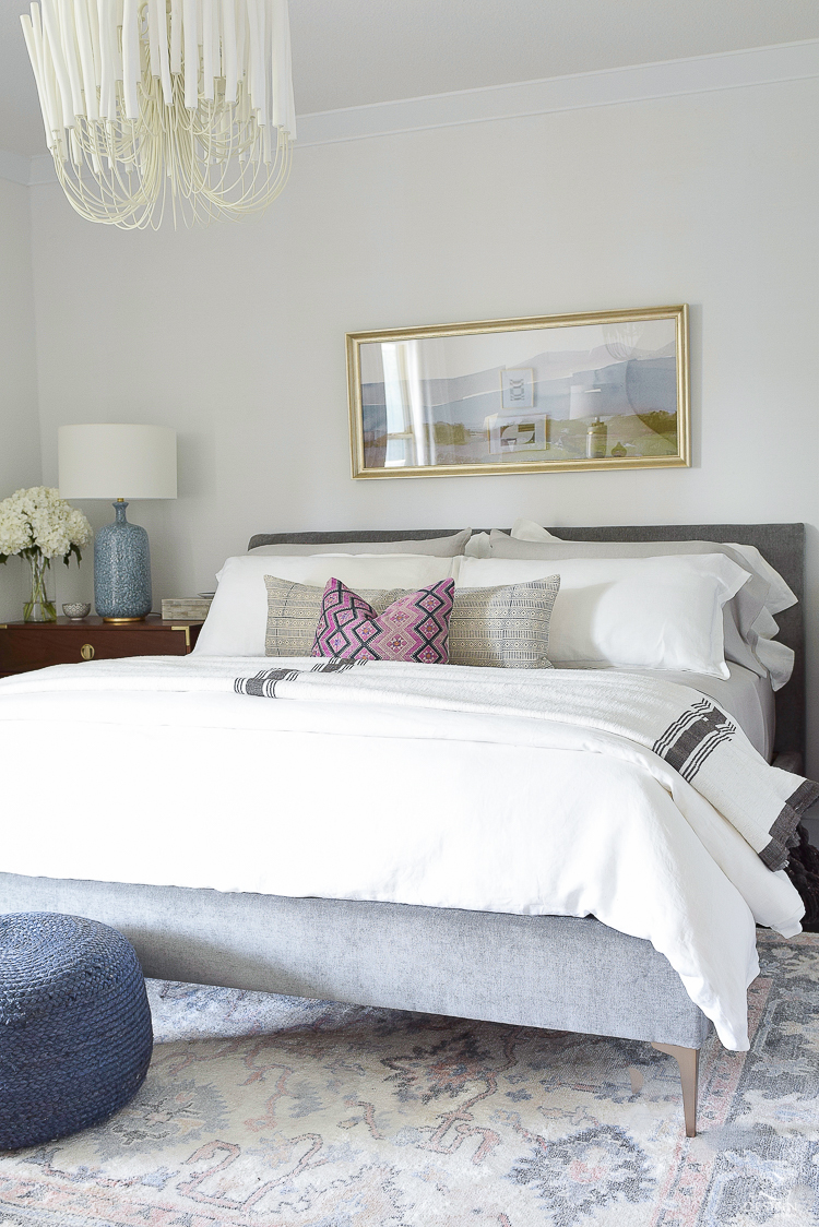 ZDesign At Home Summer Home Tour - Boho Chic Bedroom Design