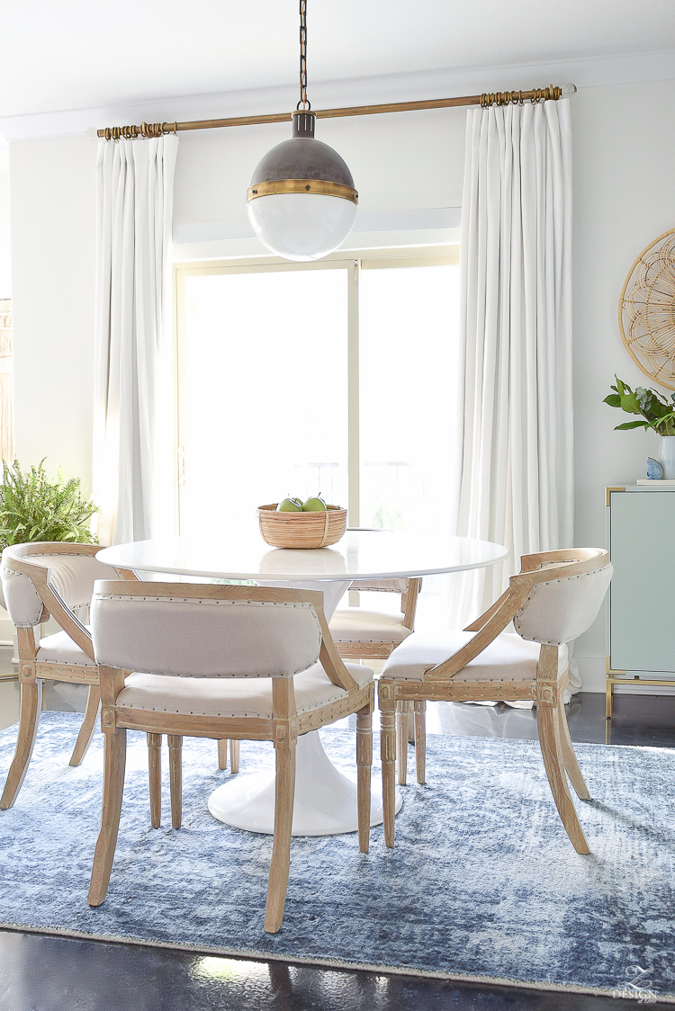 Summer Home Tour - Boho Chic Dining Room