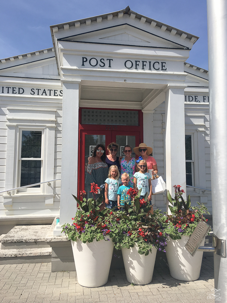 Town of Seaside, Florida post office