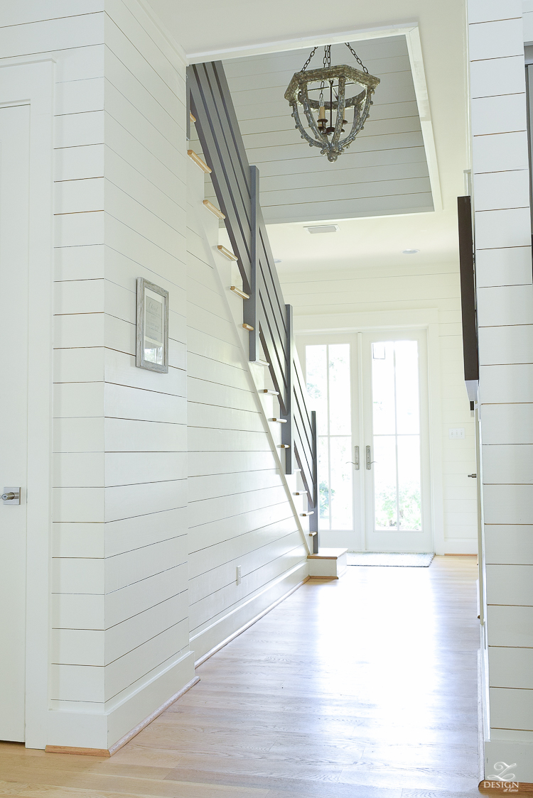 Beautiful Coastal Inspired staircase in 30-A Florida