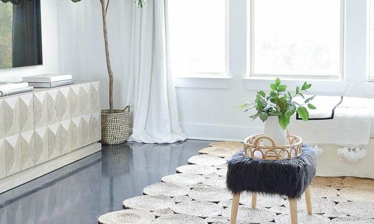The Tale of Two Rugs - The best natural woven rugs and one beautiful boho chic area rug!