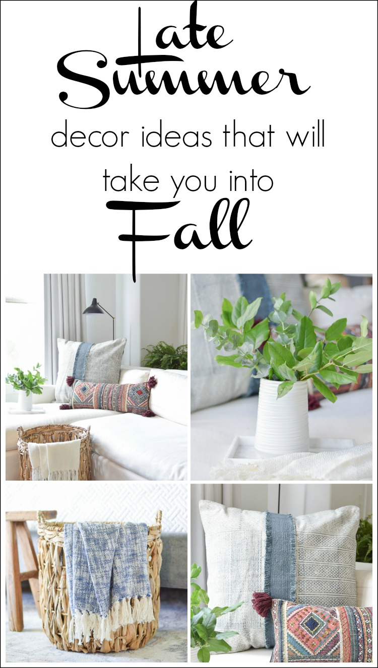 Late Summer Decor Ideas That Will Take You Into Fall This Year