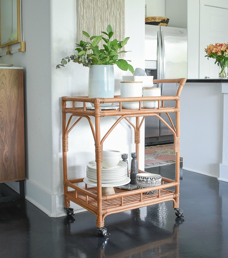 Bar Cart Style:  Why You Need One + How To Style It