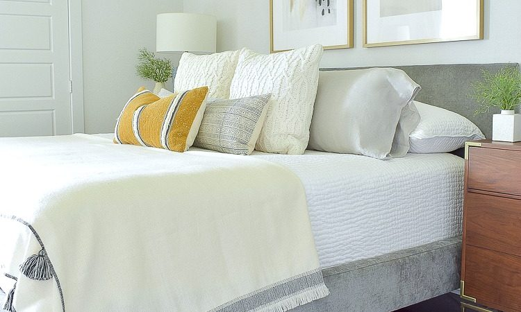ZDesign At Home Early Fall Bedroom - Harvest Colors & Cable Knits