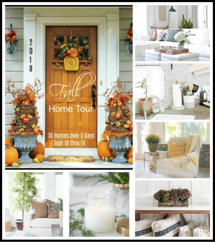A Stroll Thru Life Fall Home Tour - ZDesign At Home