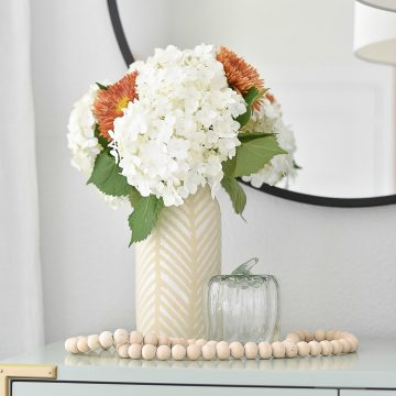 Simple, Modern Fall Decorating Ideas + Home Tour