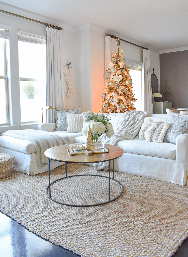 Styled For The Season Christmas Living Room Tour