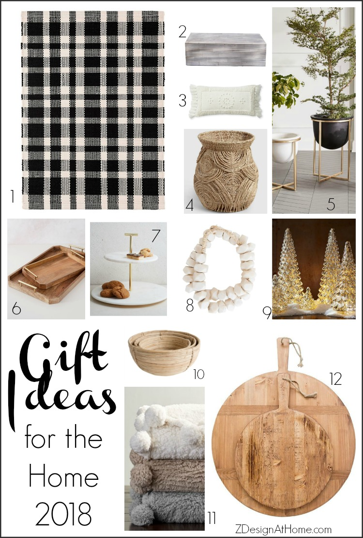 Best Gift Ideas for the Home 2018