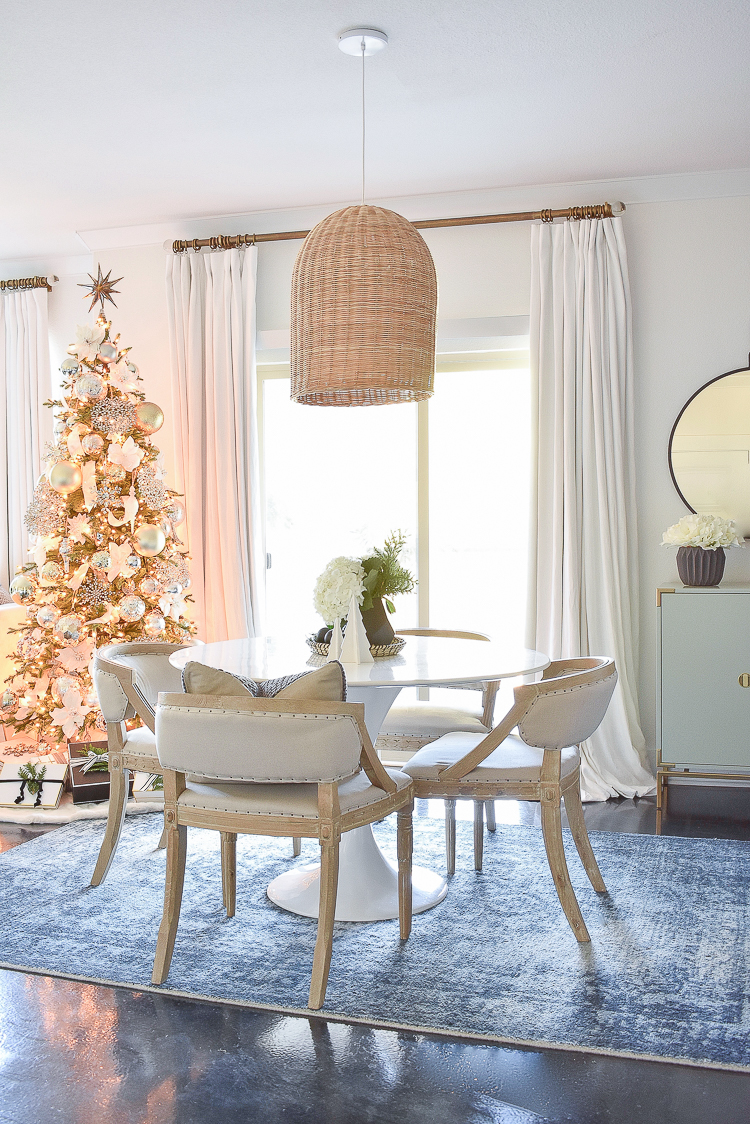 Styled For The Season Christmas Dining Room