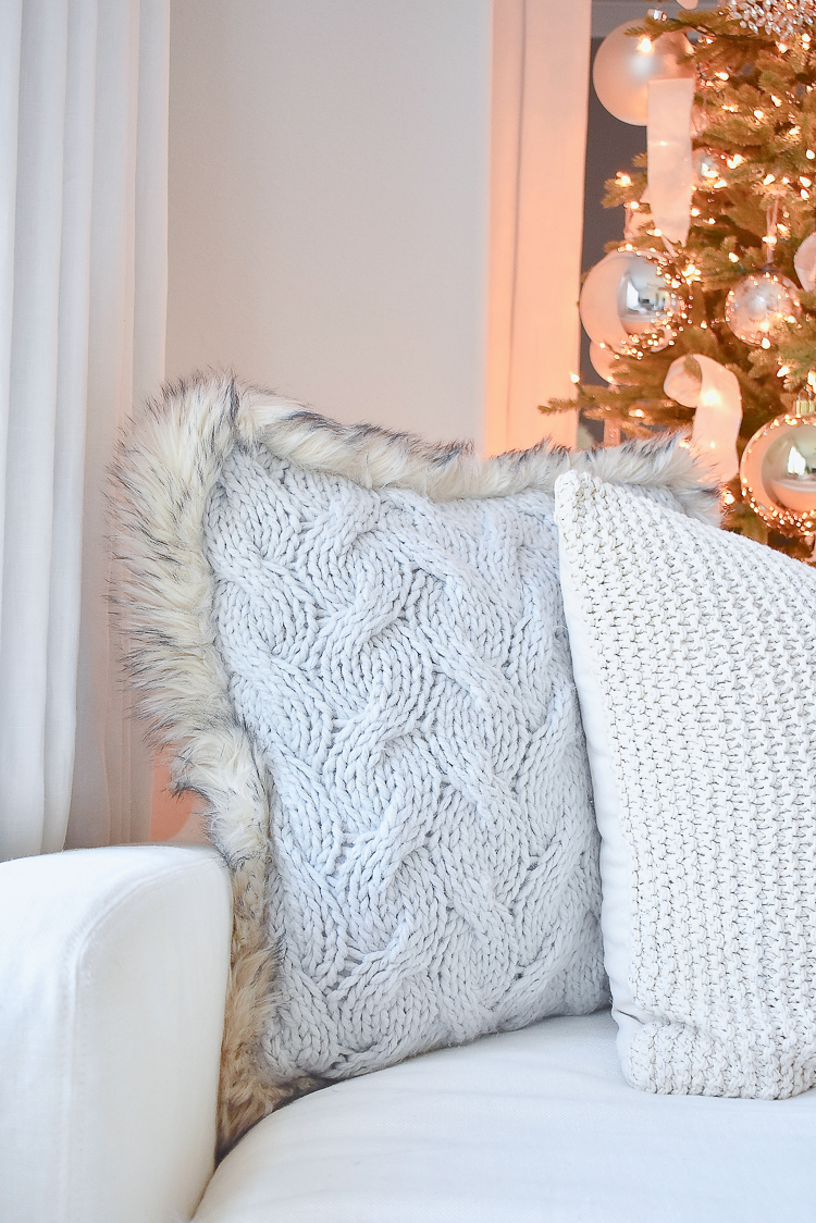 Styled For The Season - Neutral Christmas Pillows