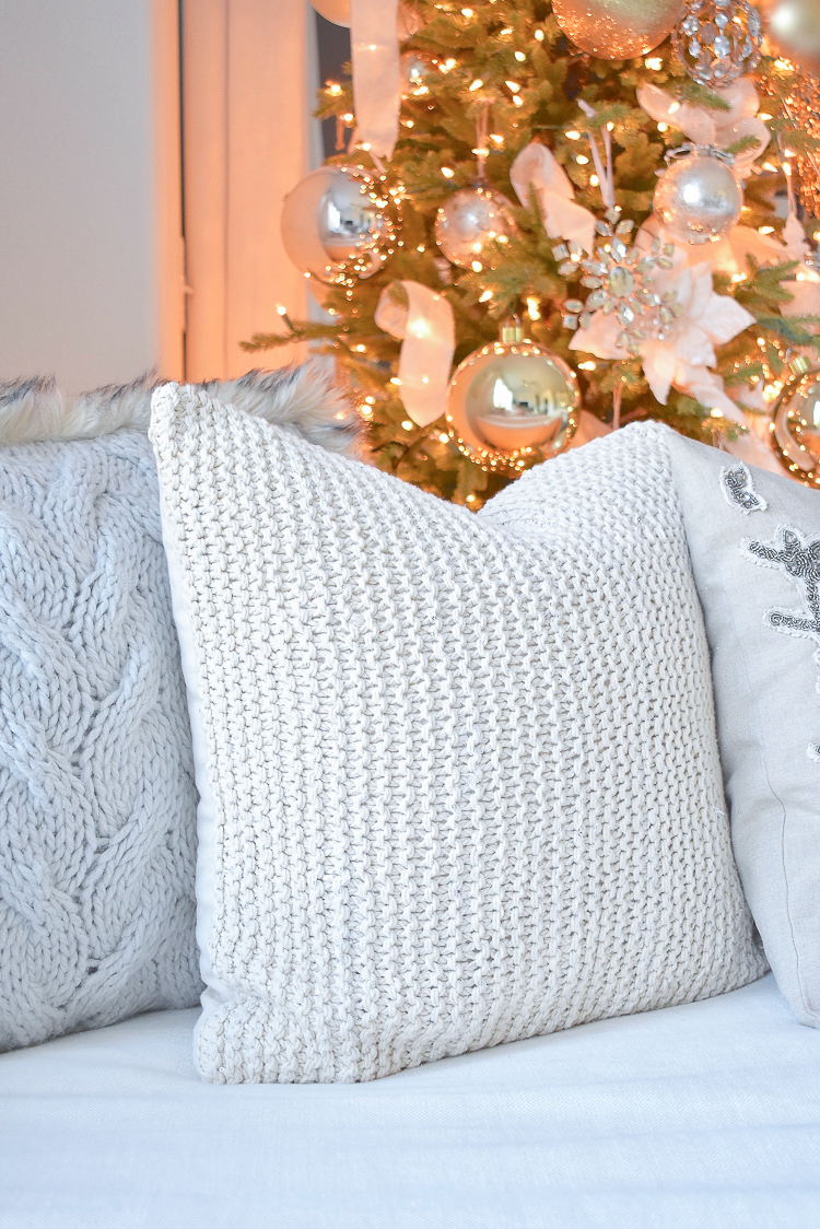 Styled For The Season Christmas Pillows - Neutral