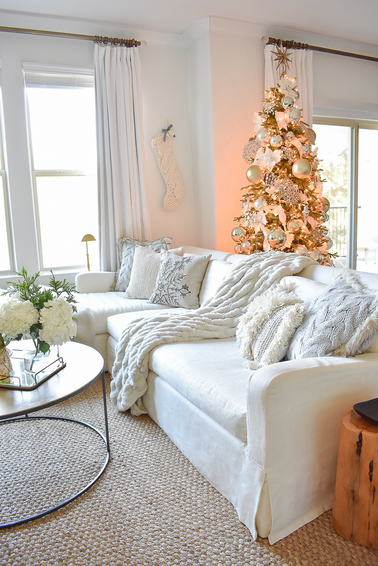 Styled For The Season Christmas Tour - Living Room ZDesign At Home
