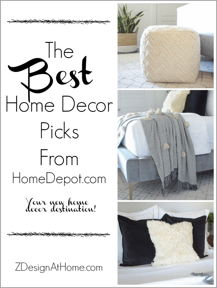 The best home decor picks from HomeDepot.com