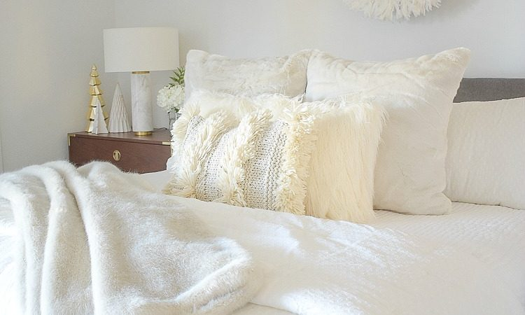 ZDesign At Home Boho Chic Christmas Bedroom Tour - A Stroll Thru Life Tour