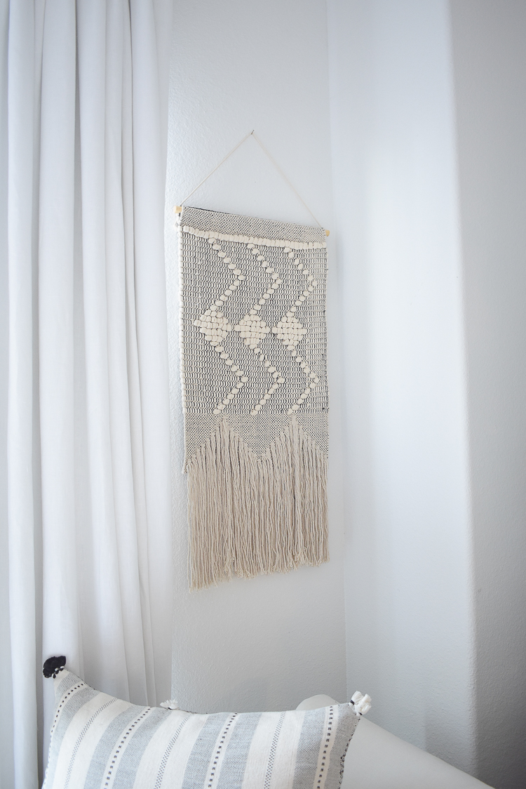 The best home furnishings and decor at Walmart - modern macramé wall hanging
