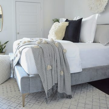 Bedroom Updates from Home Depot for the New Year - ZDesign At Home