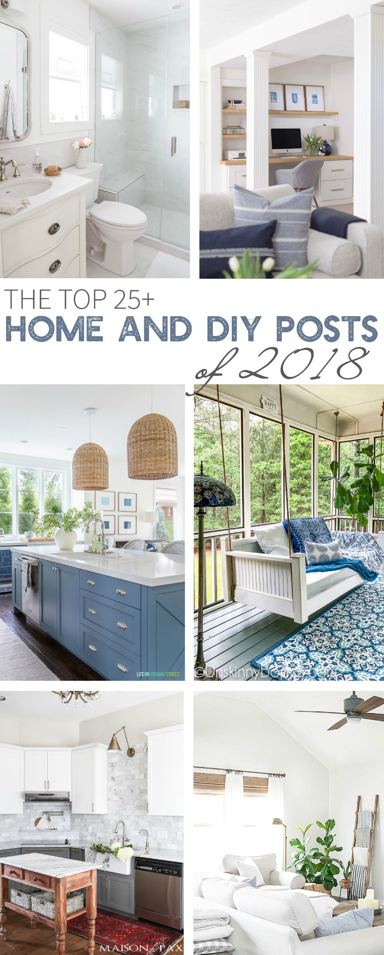 The Top 25+ Home And DIY Posts of 2018