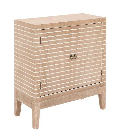 Polen 2 Door Wood Accent Cabinet