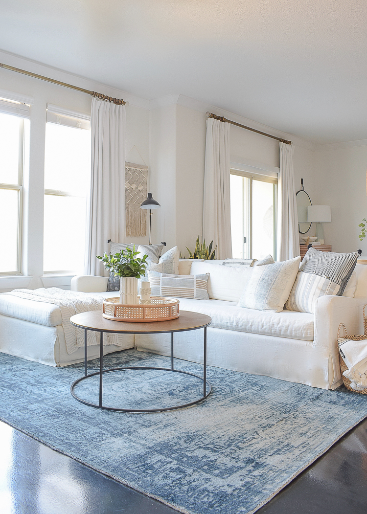 Creating a cozy winter home - tips & tour