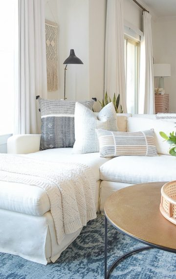Creating A Cozy Winter Home With A Nod To Spring – Tips + Tour