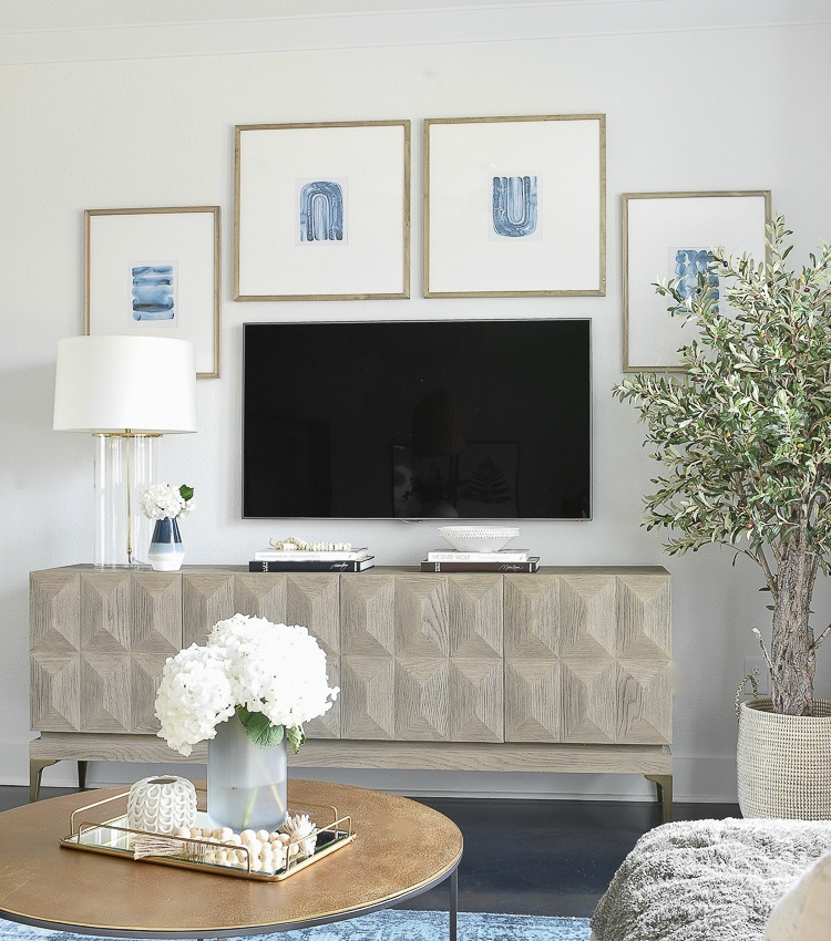 TV Gallery Wall Updates + Reveal