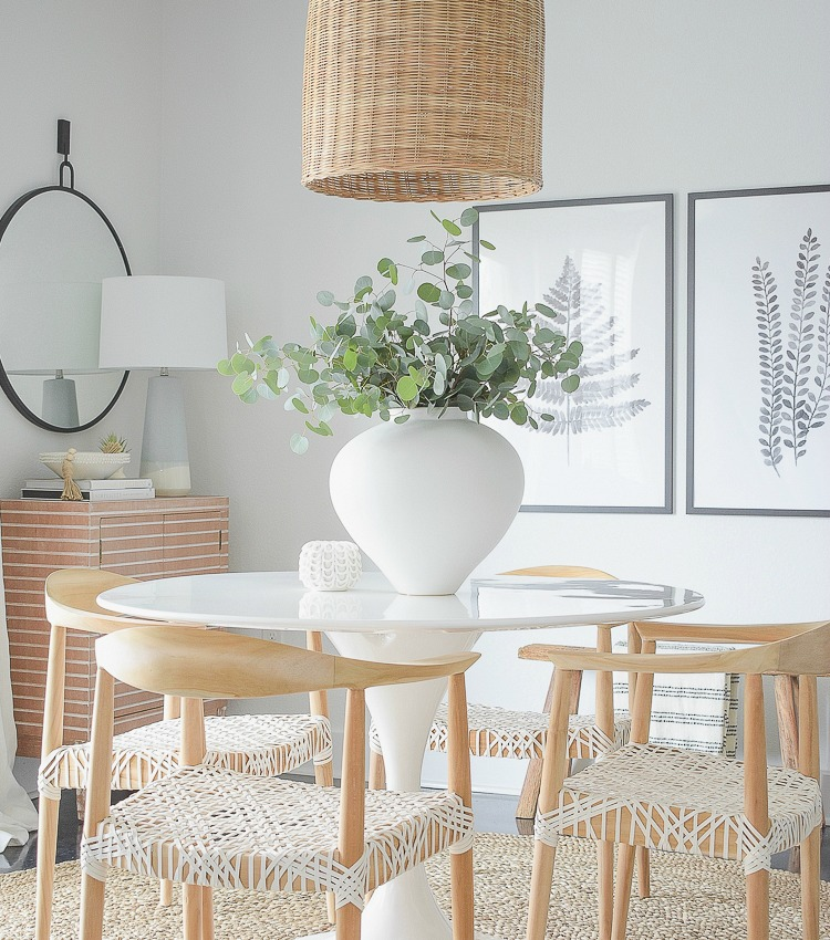 Designing A Small Casual Dining Room: Casual, Chic Dining Room Reveal