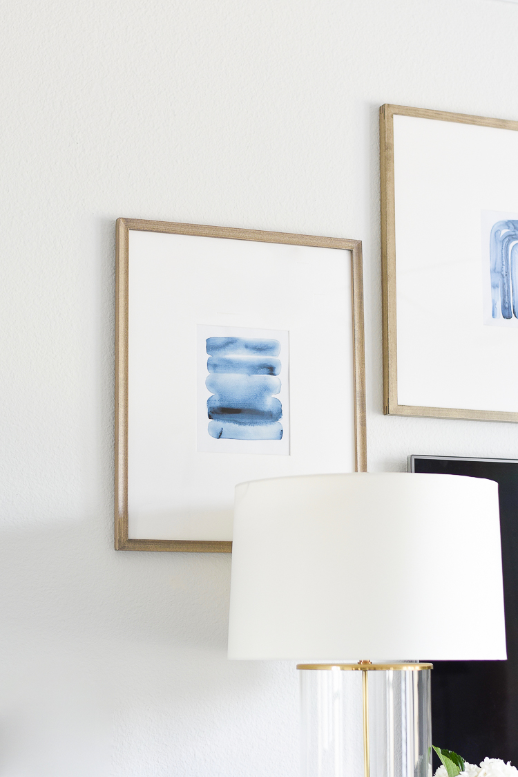 TV gallery wall reveal + tips