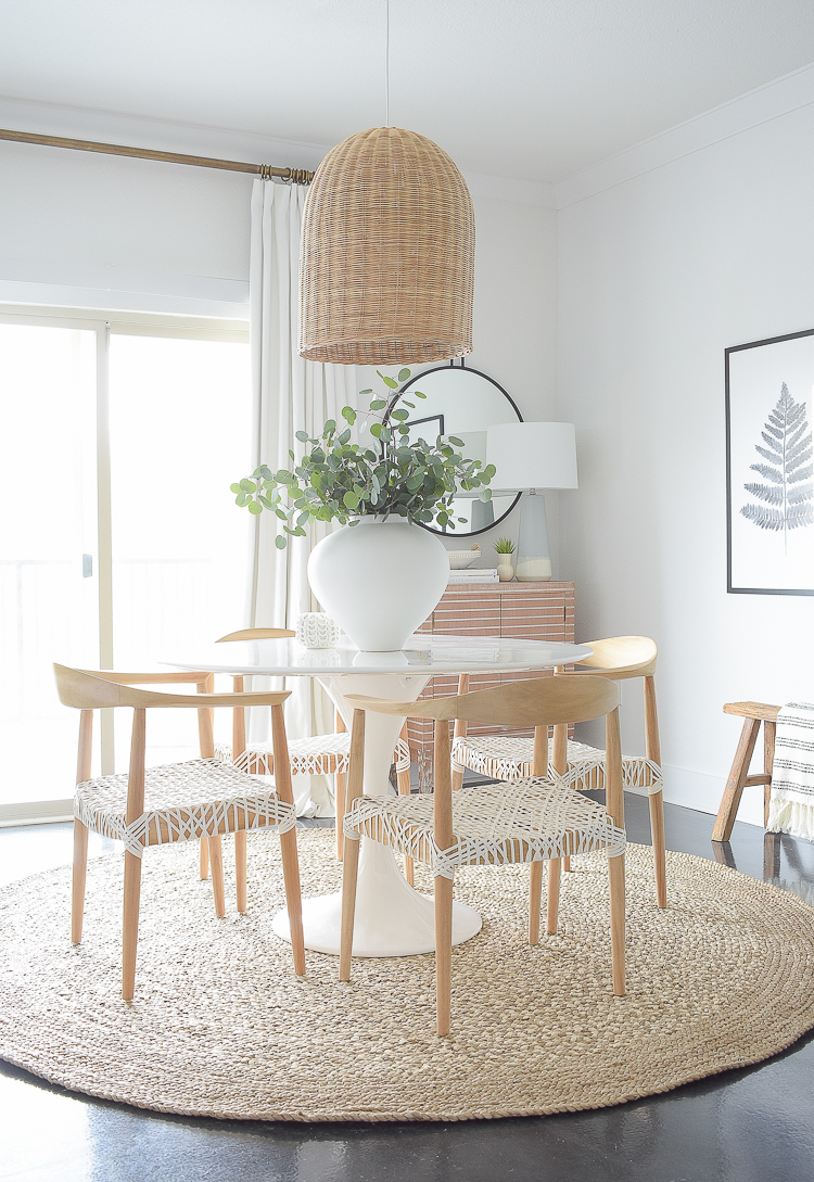Boho Chic Dining Room Reveal - ZDesign At Home